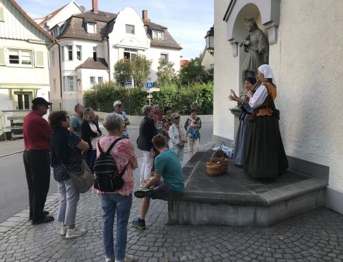 Die Klosterbäckerin zieht durch Weingarten